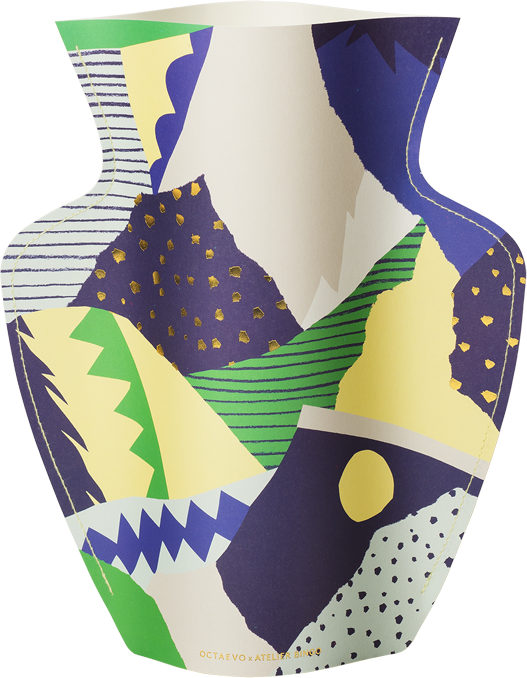 Paper Vase Stromboli