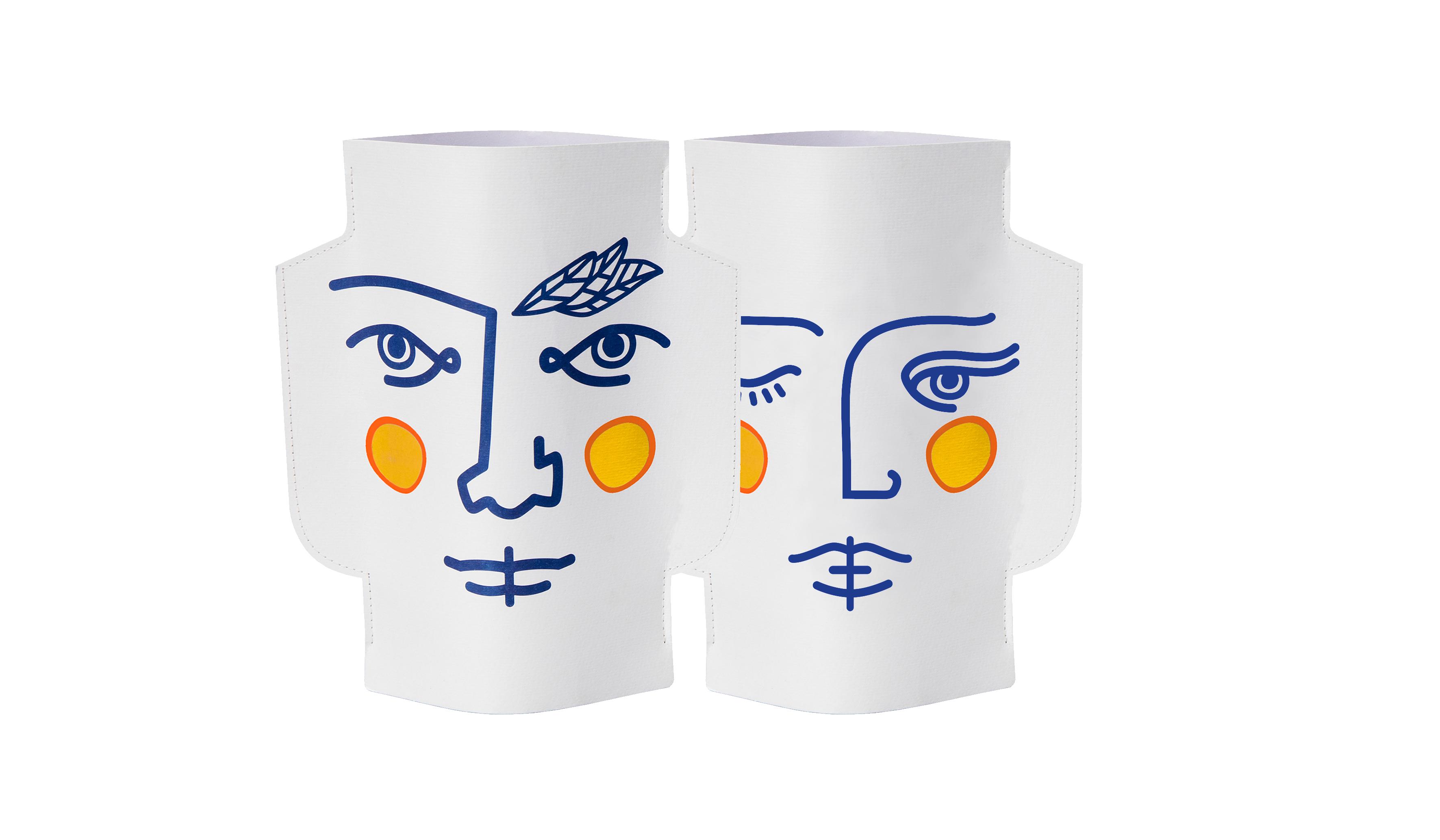 Paper Vase Janus