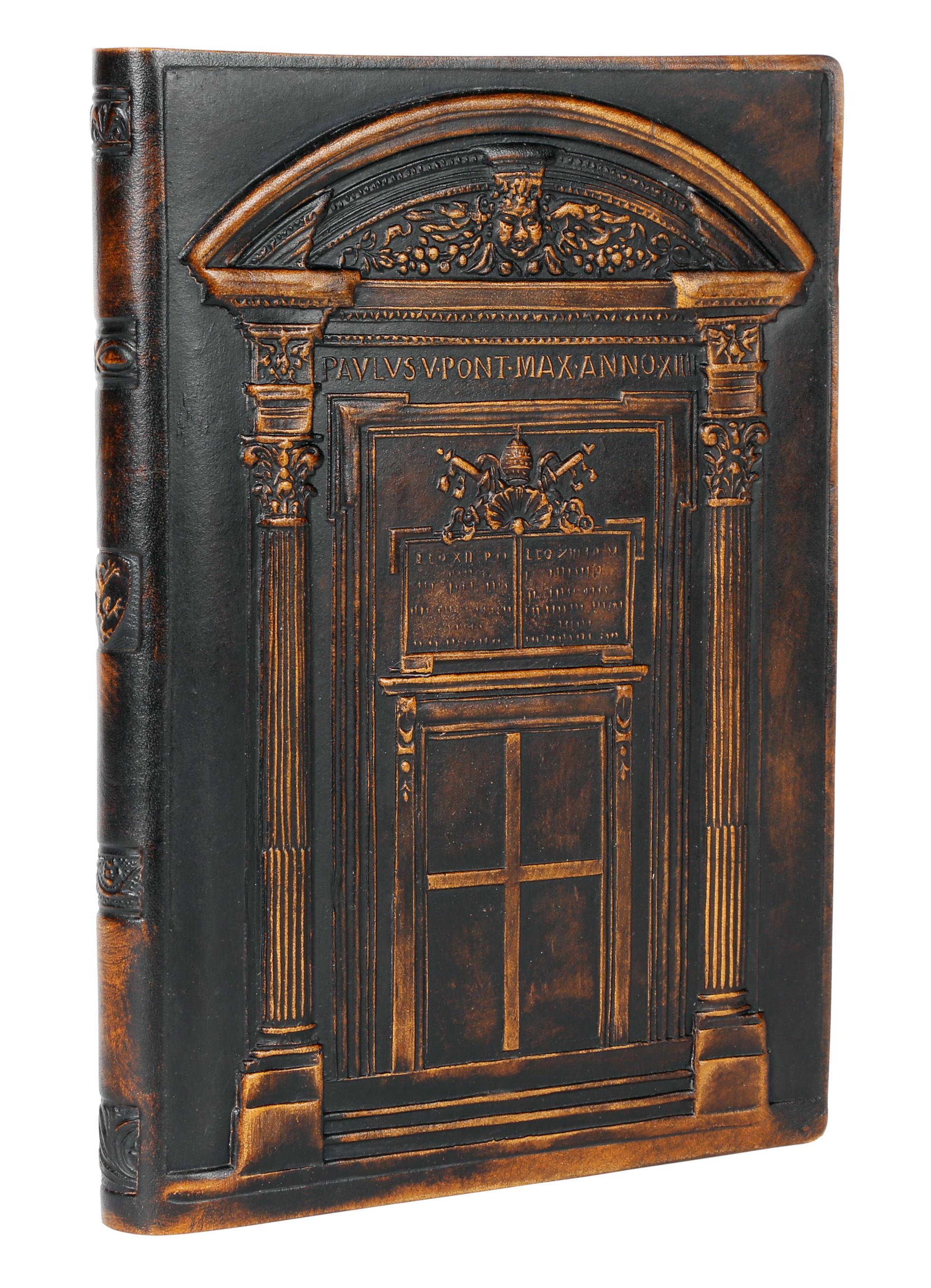 Genuine Leather Journal Vatican Door